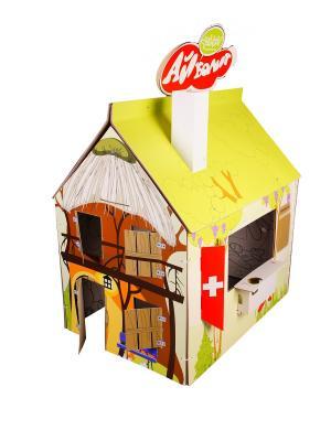 Домик-раскраска Классика + Декор Айболит Yohocube. Цвет: зеленый