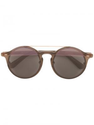Солнцезащитные очки Matahari Sunday Somewhere. Цвет: коричневый