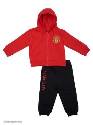 Костюм Manchester United FC Atributika & Club. Цвет: красный, черный