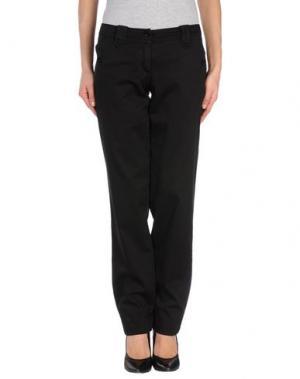 Повседневные брюки GERMANO ZAMA. Цвет: черный