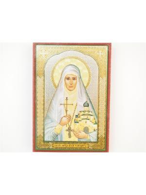 Именная икона Елизавета Bethlehem Star. Цвет: коричневый