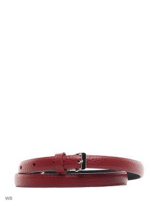 Ремень Stefania Morri. Цвет: бордовый