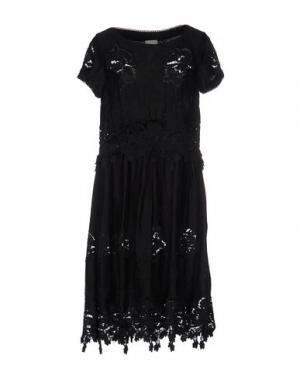 Платье до колена NOLITA. Цвет: черный