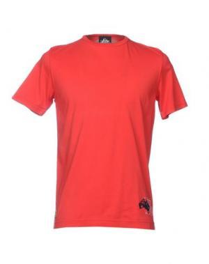Футболка LEVIATHAN. Цвет: красный