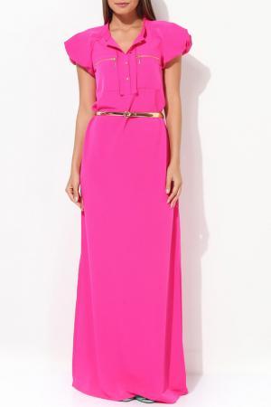 Платье JUS DE POMMES. Цвет: розовый