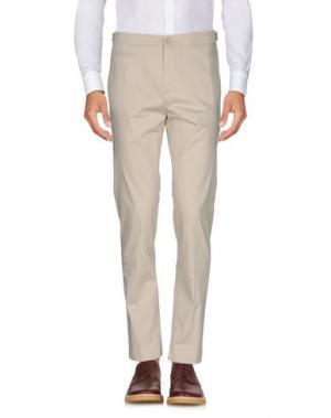 Повседневные брюки HELMUT LANG. Цвет: бежевый