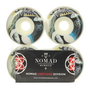Колеса для скейтборда  Timeholes Multi 101A 52 mm Nomad. Цвет: мультиколор