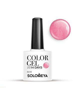 Гель-лак Color Gel Тон Rosе SCG097/Розовый SOLOMEYA. Цвет: розовый