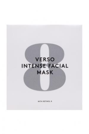 Питательная гидрогелевая маска для лица Intense Facial Mask 4х25гр. Verso. Цвет: белый