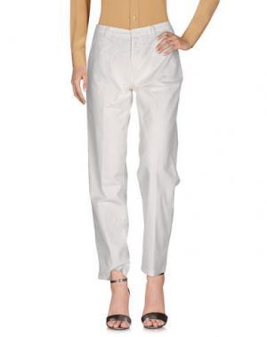Повседневные брюки YUKO. Цвет: слоновая кость
