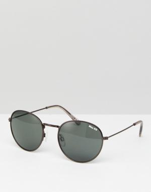Miss KG Круглые солнцезащитные очки. Цвет: черный