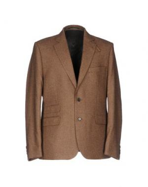 Пиджак HAMILTON. Цвет: темно-коричневый