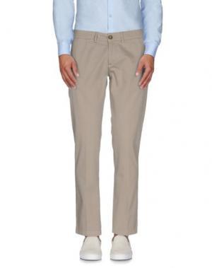 Повседневные брюки ROBERTO PEPE. Цвет: бежевый