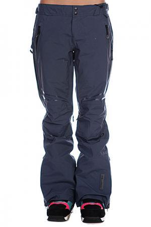 Штаны сноубордические женские  Moving Pants Ombre Blue Oakley. Цвет: серый