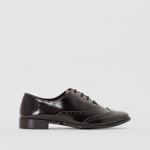 Ботинки-дерби с перфорацией R édition. Цвет: черный