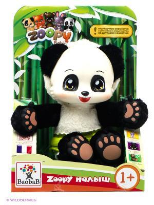Игрушка Панда со светящимися в темноте лапками Zoopy. Цвет: белый, черный