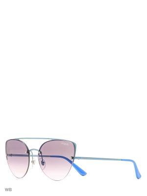 Очки солнцезащитные VOGUE eyewear. Цвет: голубой