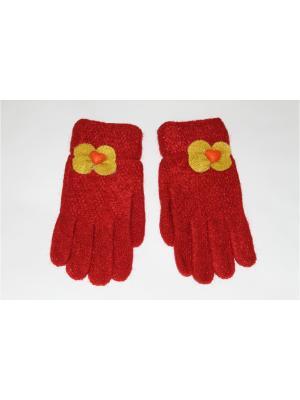 Перчатки Cascatto. Цвет: красный