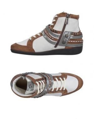 Высокие кеды и кроссовки JANET SPORT. Цвет: какао