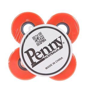 Колеса для скейтборда лонгборда  Solid Wheels Orange 79А 59 mm Penny. Цвет: оранжевый
