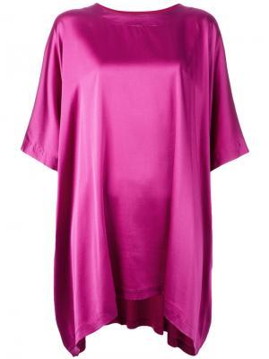 Oversized tunic Tsumori Chisato. Цвет: розовый и фиолетовый