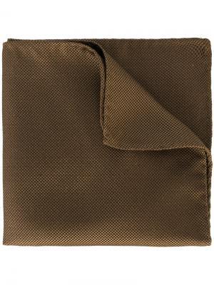 Однотонный нагрудный платок Dsquared2. Цвет: коричневый