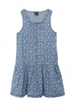 Платье джинсовое Losan. Цвет: синий