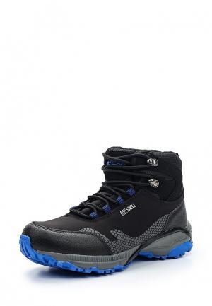 Ботинки трекинговые Escan. Цвет: черный