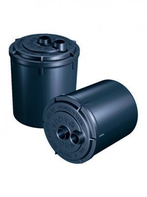 Комплект картриджей Аквафор B200 для проточных фильтров ресурс:4000л (упак.:2шт). Цвет: серый