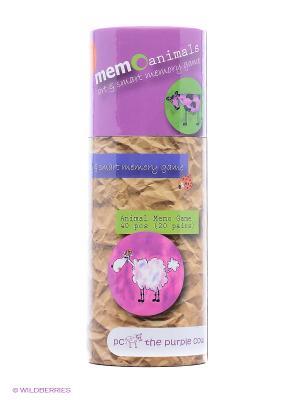 Игра для развития памяти - Животные THE PURPLE COW. Цвет: фиолетовый