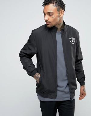New Era Спортивная куртка Raiders. Цвет: черный