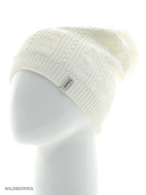 Шанхай Беркле шапка женская с помпоном Berkle. Цвет: молочный