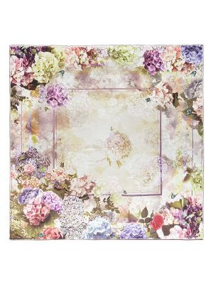 Платок Eleganzza. Цвет: хаки, бледно-розовый, кремовый, светло-желтый, сиреневый, темно-бежевый