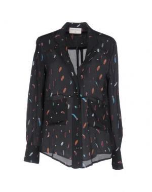 Pубашка SONIA DE NISCO. Цвет: стальной серый