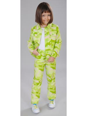 Комплект одежды Милашка Сьюзи. Цвет: салатовый