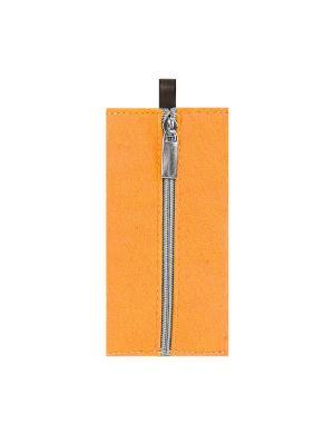 Ключница фетровая на замке IQ Format. Цвет: оранжевый