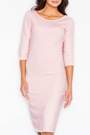 Платье Figl. Цвет: розовый