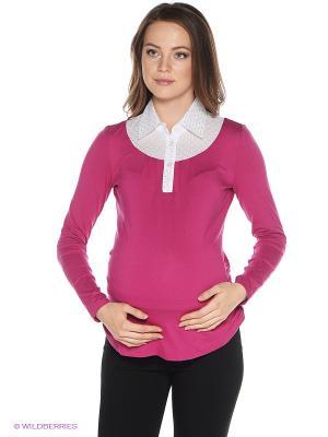 Блузка One plus. Цвет: розовый