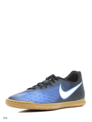 Кеды для зала MAGISTAX OLA II IC Nike. Цвет: черный, синий