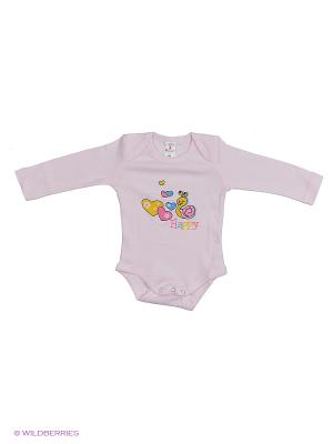 Пижама ясельнаяMP0102 03 цвет розовый, улитка Квирит. Цвет: розовый