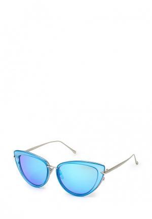 Очки солнцезащитные Vitacci. Цвет: голубой