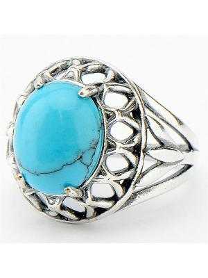 Кольцо Эвита Колечки. Цвет: голубой