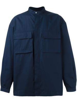 Рубашка Bulmer E. Tautz. Цвет: синий