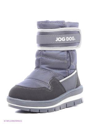 Сапоги Jog Dog. Цвет: синий