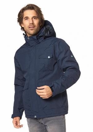 Куртка POLARINO. Цвет: темно-синий