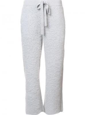 Укороченные брюки Undercover. Цвет: серый