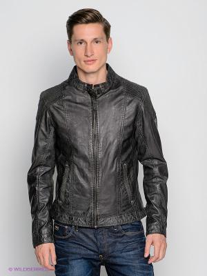 Куртка Mauritius. Цвет: черный, серый