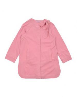 Легкое пальто MIMISOL. Цвет: розовый