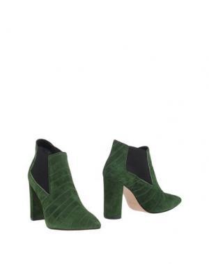 Полусапоги и высокие ботинки ANNA F.. Цвет: зеленый