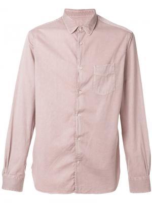 Denim shirt Officine Generale. Цвет: розовый и фиолетовый